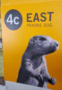 Prairie Dog Level at the Palliser One parking garage in Calgary, AB.